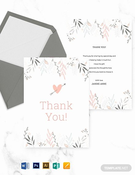 Bridal Shower Thank You Template Luxury Free Alabaster Floral Wedding Place Card Template