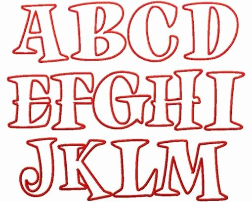 Bubble Letter Font Printable Awesome 16 Best Images About Fonts On Pinterest