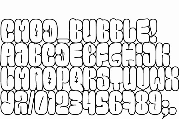 Bubble Letter Font Printable Beautiful 13 Bubble Letter Font Bubble Letters Alphabet
