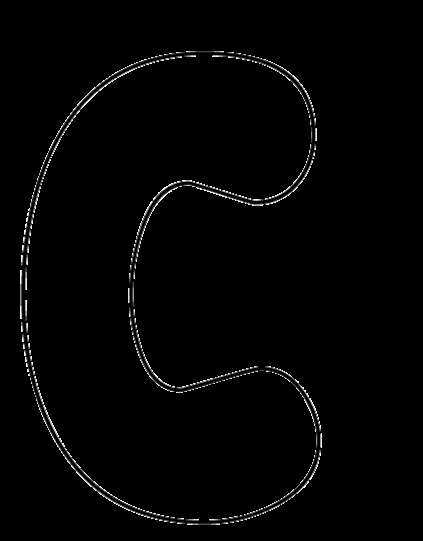 Bubble Letter Font Printable Best Of Bubbles Print Font C