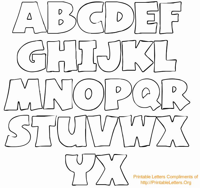 Bubble Letter Font Printable Best Of Free Printable Bubble Letter Stencils