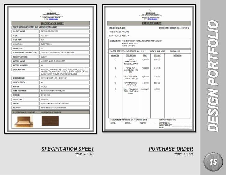Builder Spec Sheet Template Fresh Emily Gardiner Interior Design Portfolio