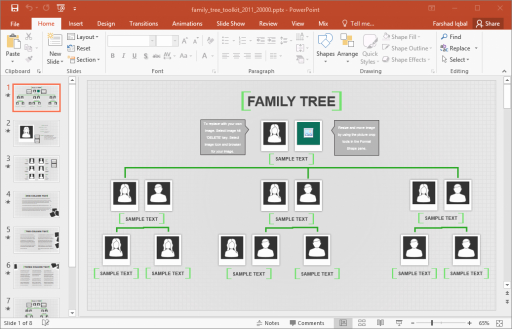 Building A Family Tree Template Fresh Excel Family Tree Template Family Tree Template for Excel