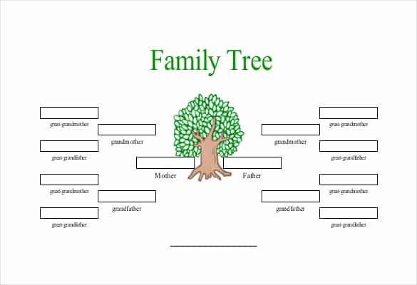 Building A Family Tree Template Luxury Printable Family Tree with Siblings Printable Pages
