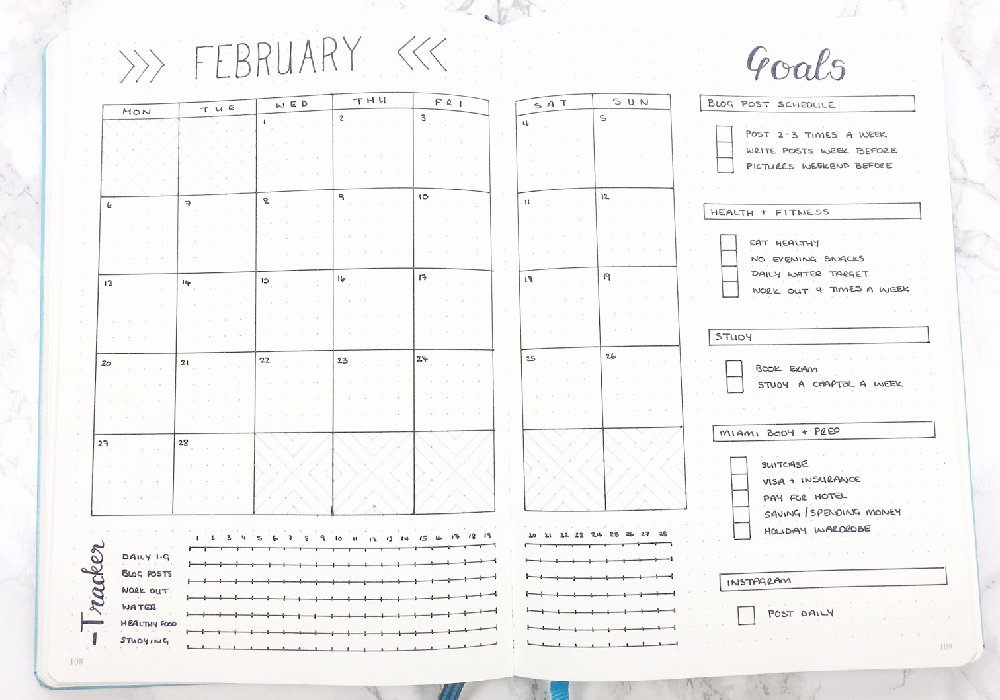 Bullet Journal Layout Templates Inspirational Bullet Journal Templates I Heart Planners