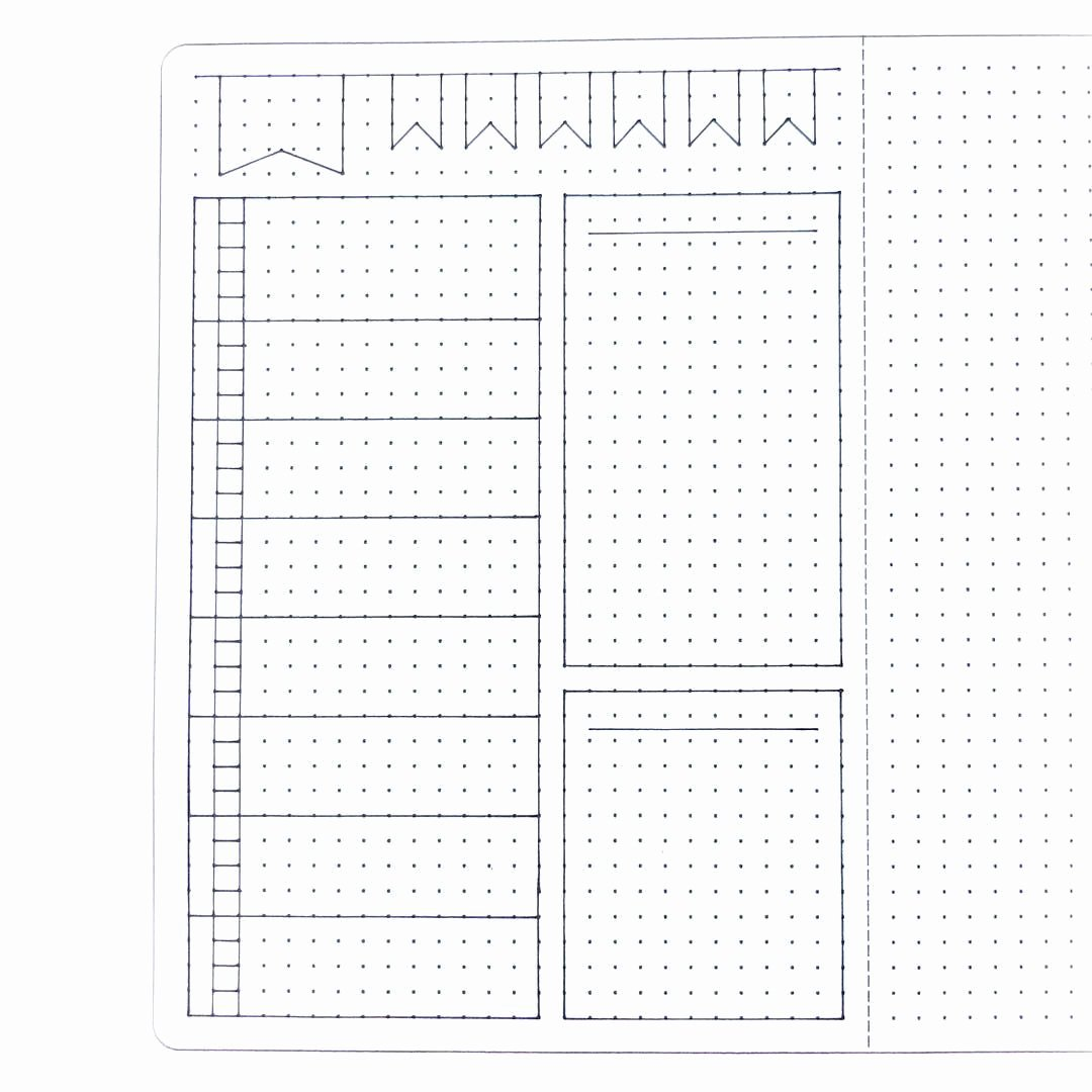 Bullet Journal Layout Templates Inspirational Pin by Linda Brady On Bullet Journal