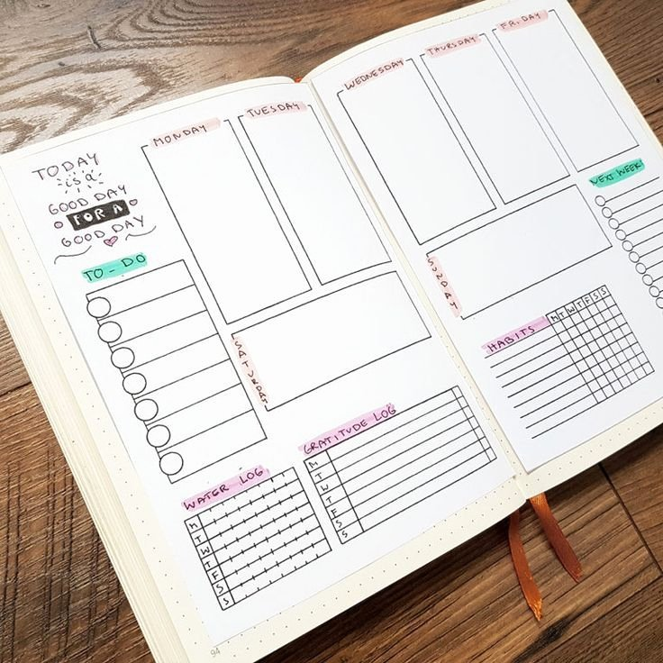 Bullet Journal Layout Templates Lovely Free Bullet Journal Printables that Ll Make Your Bujolife