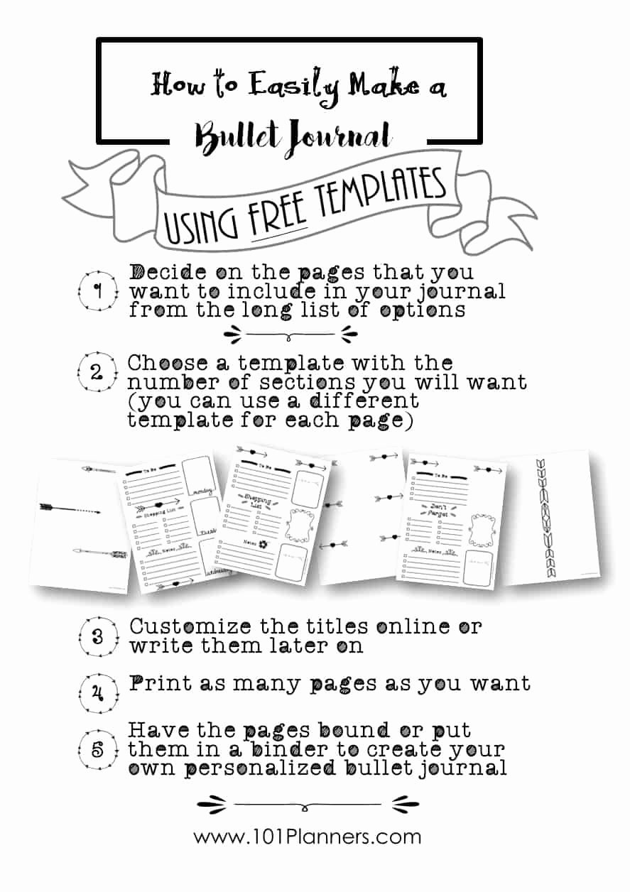 Bullet Journal Layout Templates New Free Bullet Journal Printables