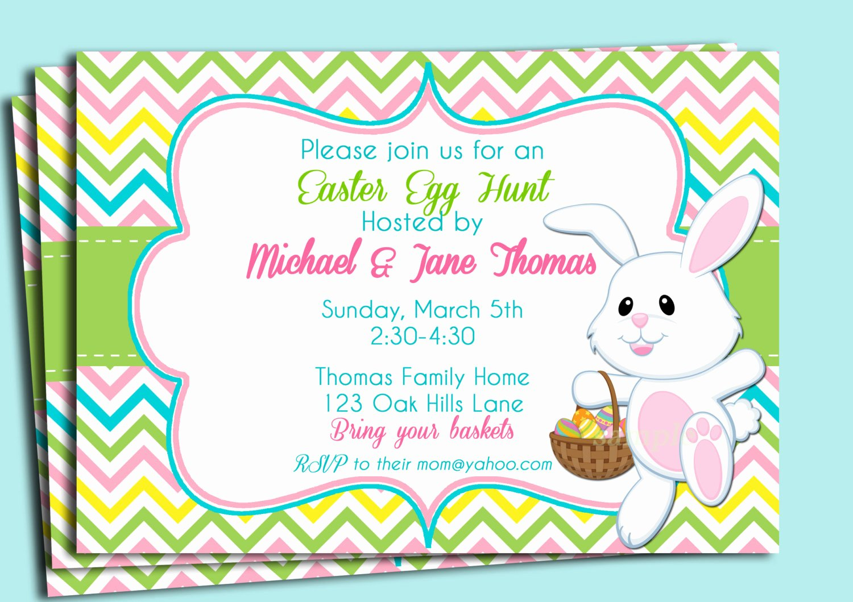 Bunny Birthday Invitation Template Lovely Easter Birthday Invitations Ideas – Bagvania Free