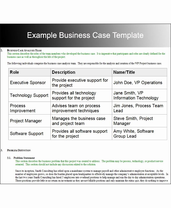 Business Case Study Examples Best Of 9 Case Analysis Examples Pdf Word