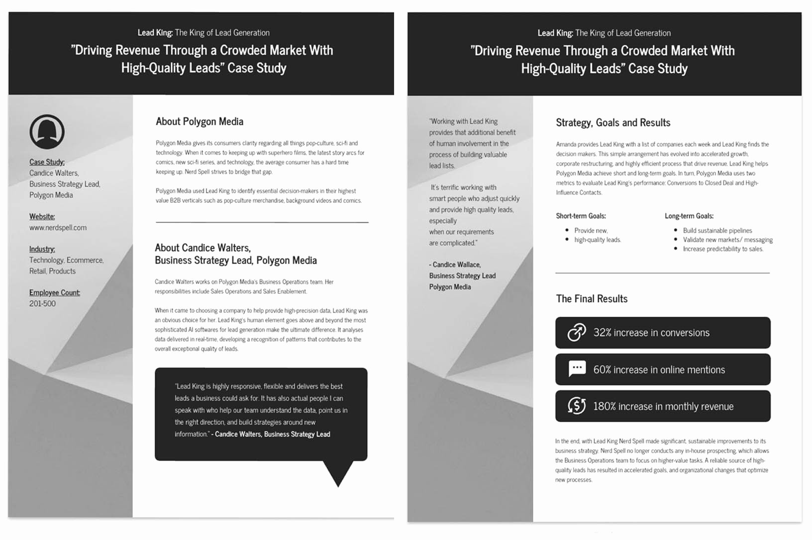 Business Case Study Examples Fresh 15 Professional Case Study Examples [design Tips