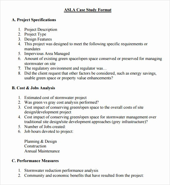 Business Case Study Examples Inspirational Case Study Template 6 Download In Pdf Psd