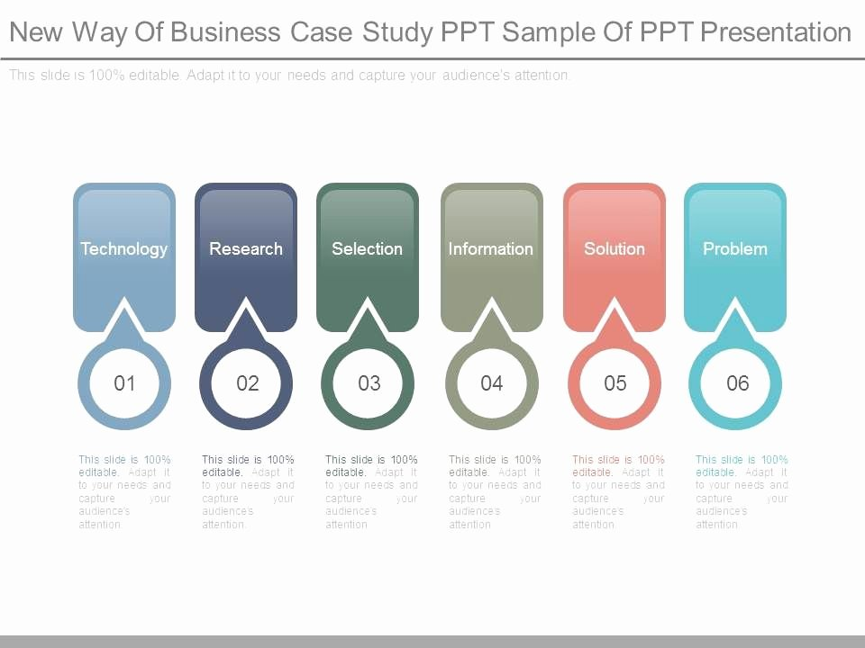 Business Case Study Examples Lovely New Way Business Case Study Ppt Sample Ppt