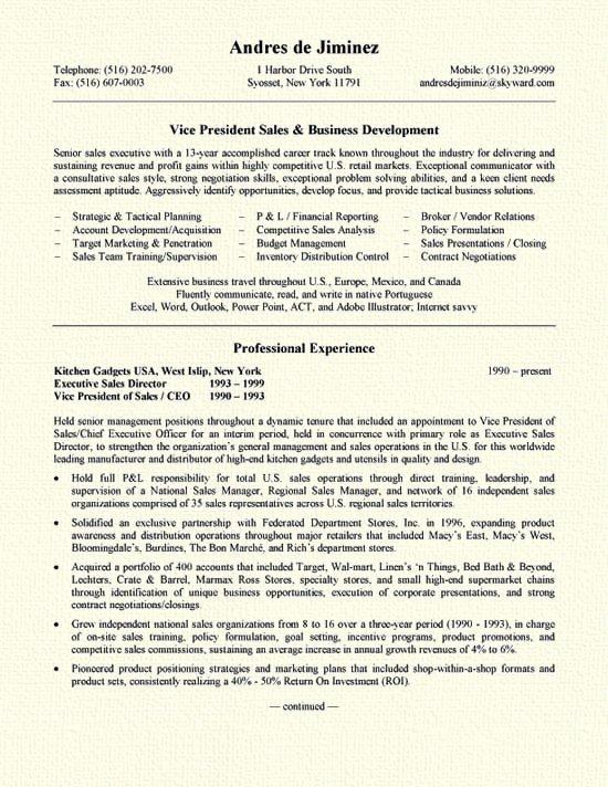 Business Development Manager Resume Fresh Business Development Resume Example