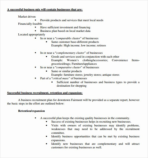 Business Development Plan Example Best Of Sample Real Estate Business Plan Template 13 Free