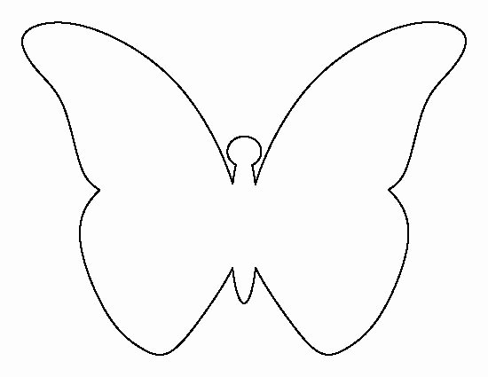 Butterfly Cut Out Template Awesome Pin by Muse Printables On Printable Patterns at