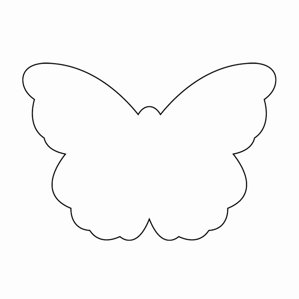 Butterfly Cut Out Template Beautiful Free Printable butterfly Cutouts Download Free Clip Art