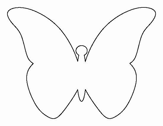 Butterfly Cut Out Template Inspirational Best 25 Felt butterfly Pattern Ideas On Pinterest