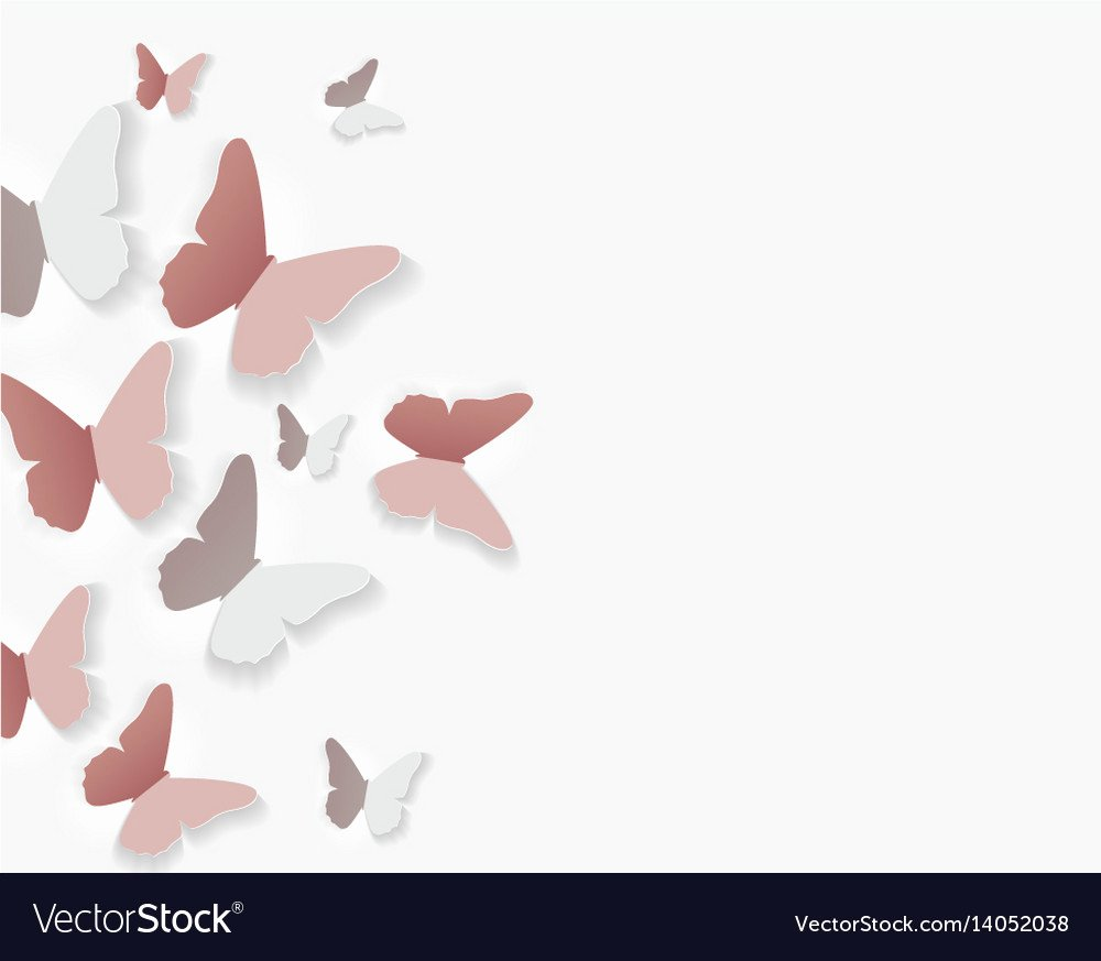 Butterfly Paper Cut Out Awesome Abstract Paper Cut Out butterfly Flower Background