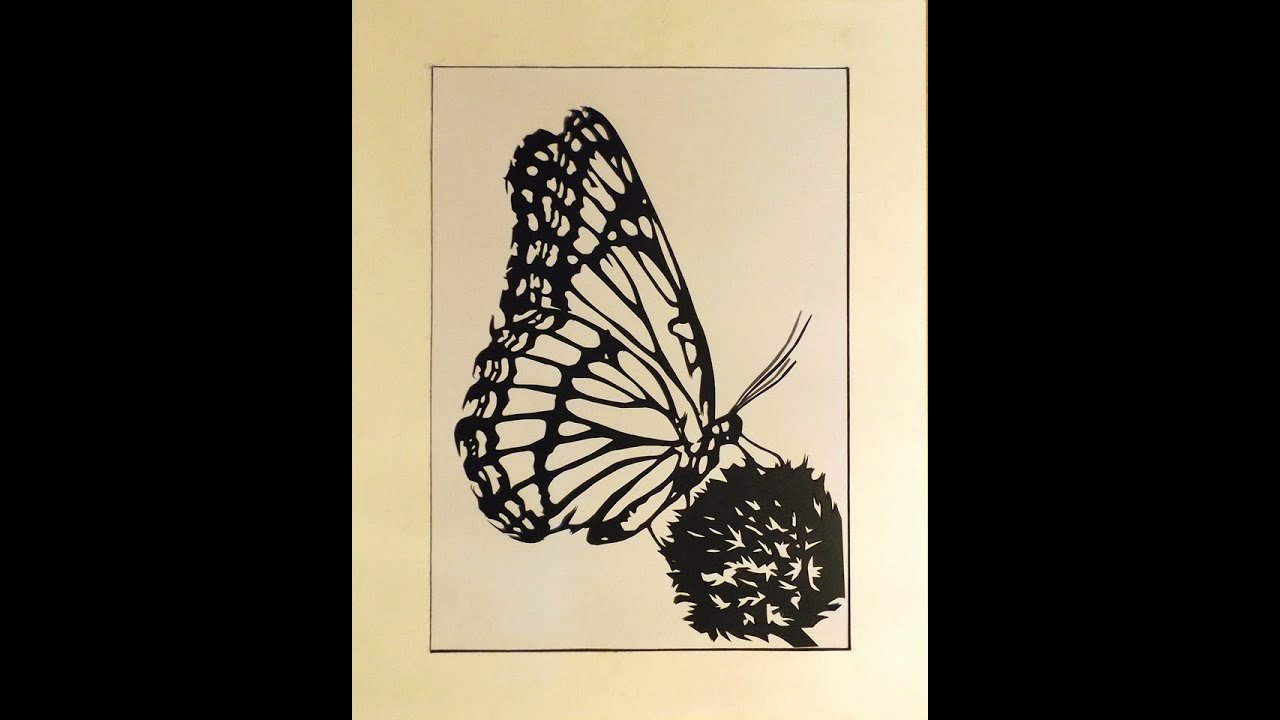 Butterfly Paper Cut Out Best Of butterfly Paper Cut Out Time Lapse Jamiroquai