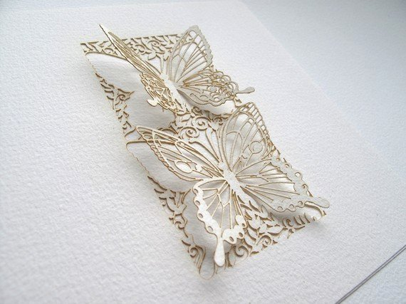 Butterfly Paper Cut Out Best Of Intricate Cut Paper Designs From Sara Burgess
