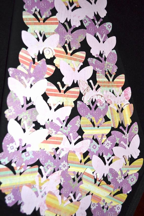Butterfly Paper Cut Out Fresh butterfly Paper Cut Outs 50 by Creatingwithni On Etsy