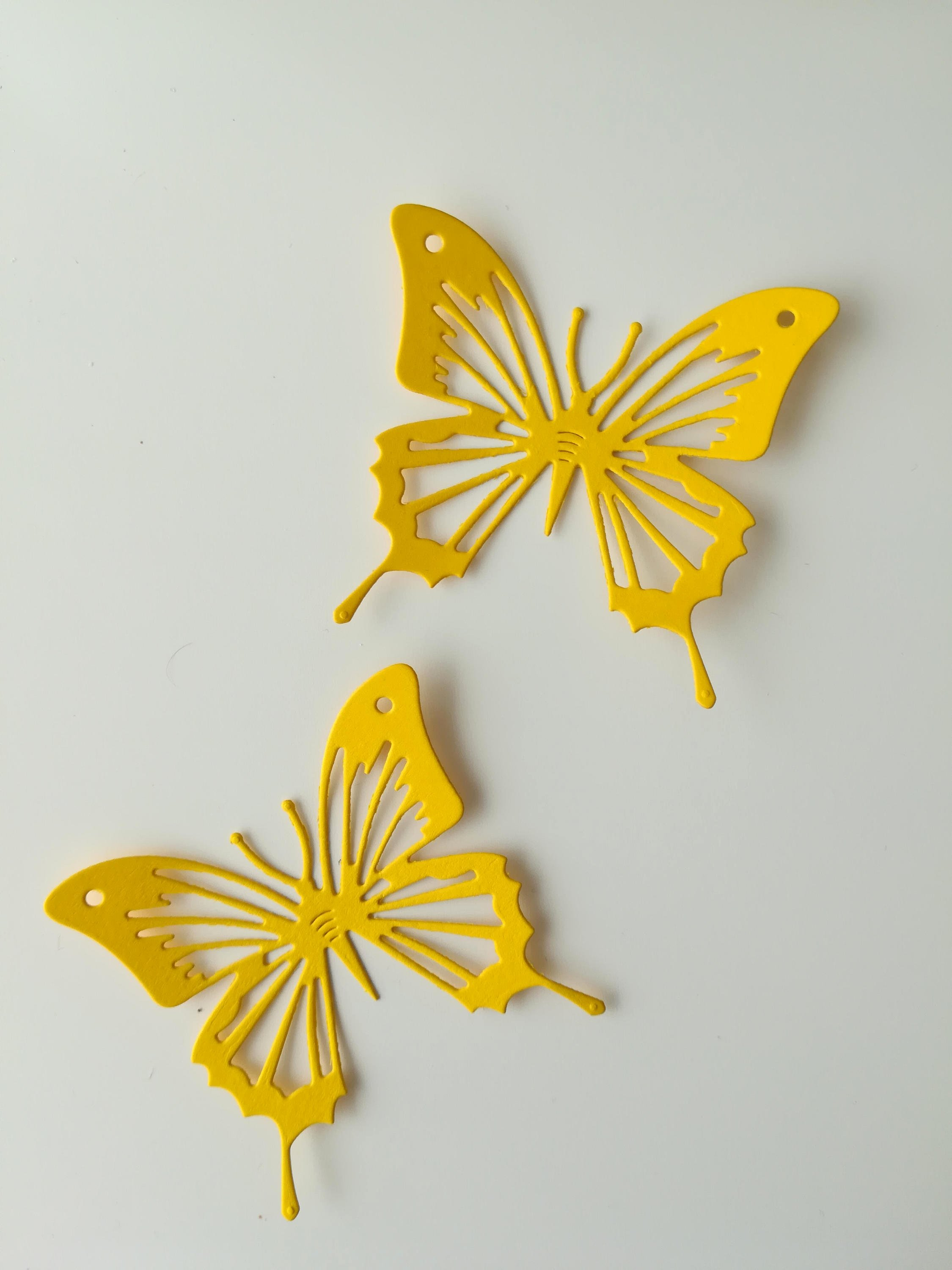 Butterfly Paper Cut Out Fresh Paper butterflies 10pcs Die Cut butterflies Colored