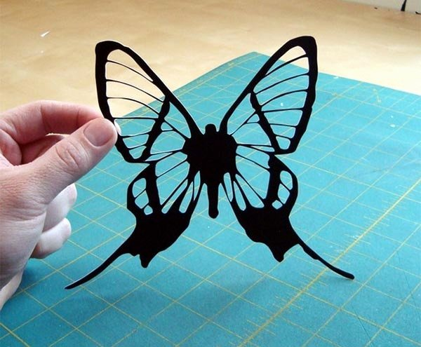 Butterfly Paper Cut Out Inspirational Paper Cut butterfly Paper Art & origami