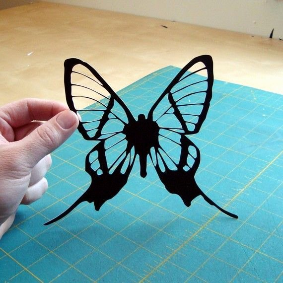 Butterfly Paper Cut Out Luxury Note to Self Cricket Machine or Super Sharp