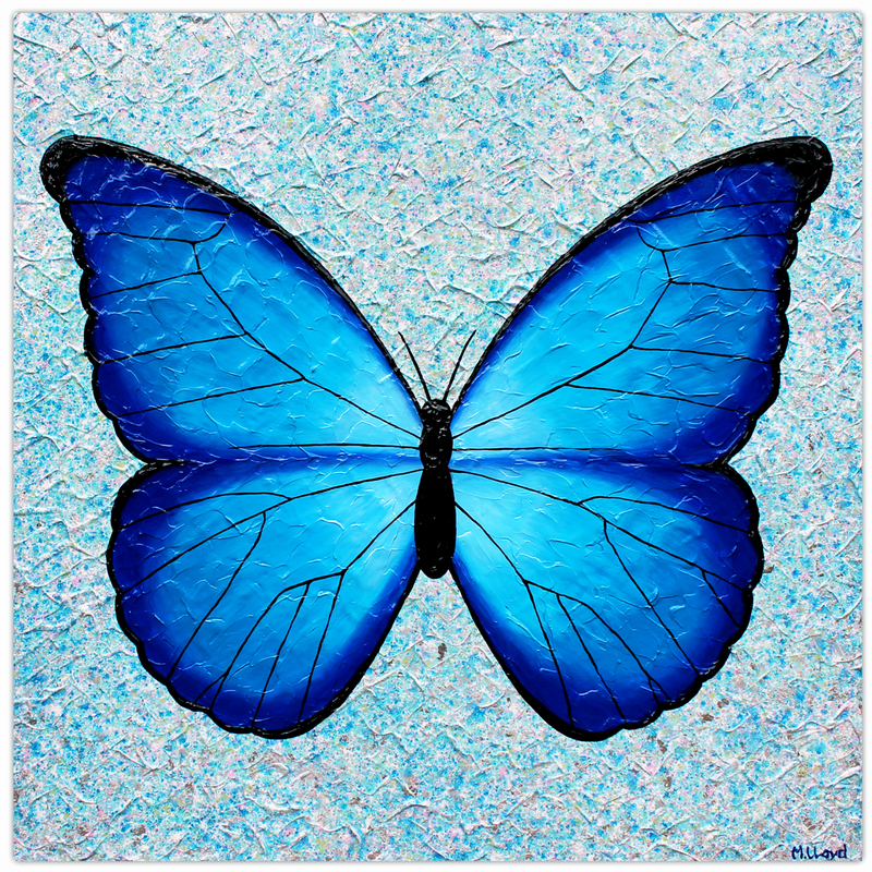 Butterfly Pictures to Paint Best Of butterfly Joyful Wish Granter Textural Painting by