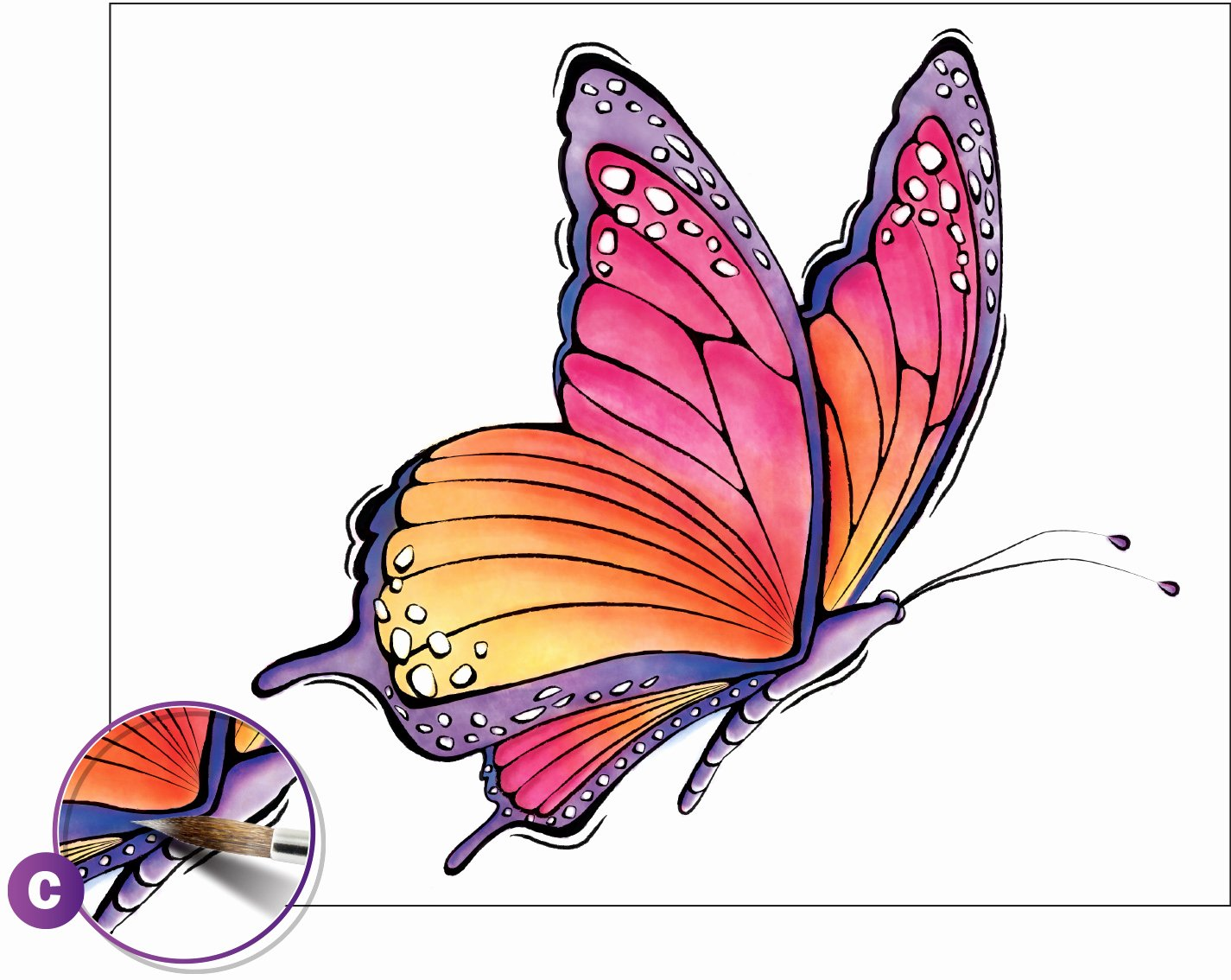Butterfly Pictures to Paint Fresh Watercolor Painting Beautiful butterfly