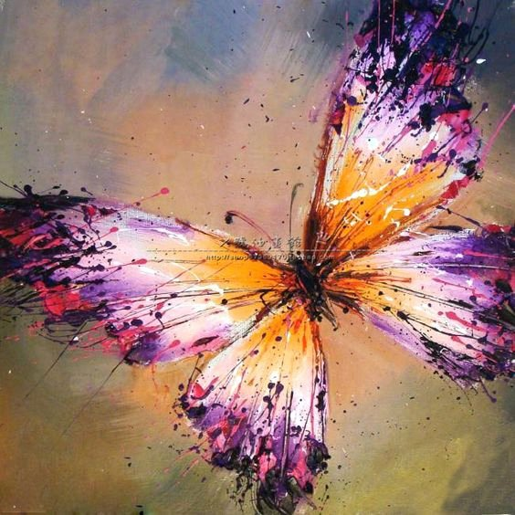 Butterfly Pictures to Paint Fresh X Oil Painting Decorative Painting butterfly Painting