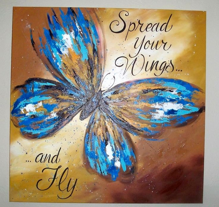 Butterfly Pictures to Paint Inspirational 25 Best Ideas About butterfly Painting On Pinterest