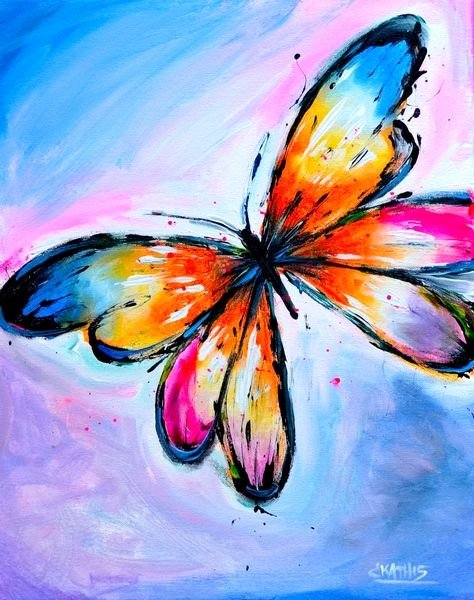 Butterfly Pictures to Paint Lovely Image Result for Easy butterfly Paintings