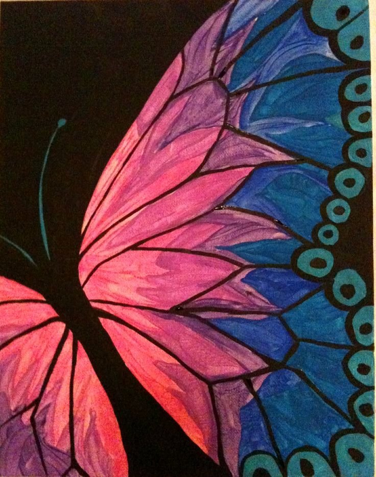 Butterfly Pictures to Paint Luxury Acrylic Painting Of butterflies Google Search