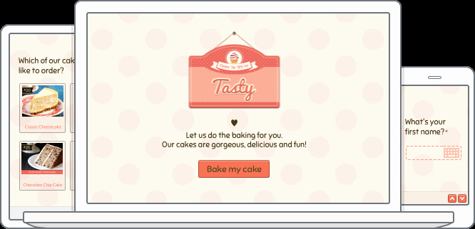 Cake order form Templates Beautiful Line Cake order form Template
