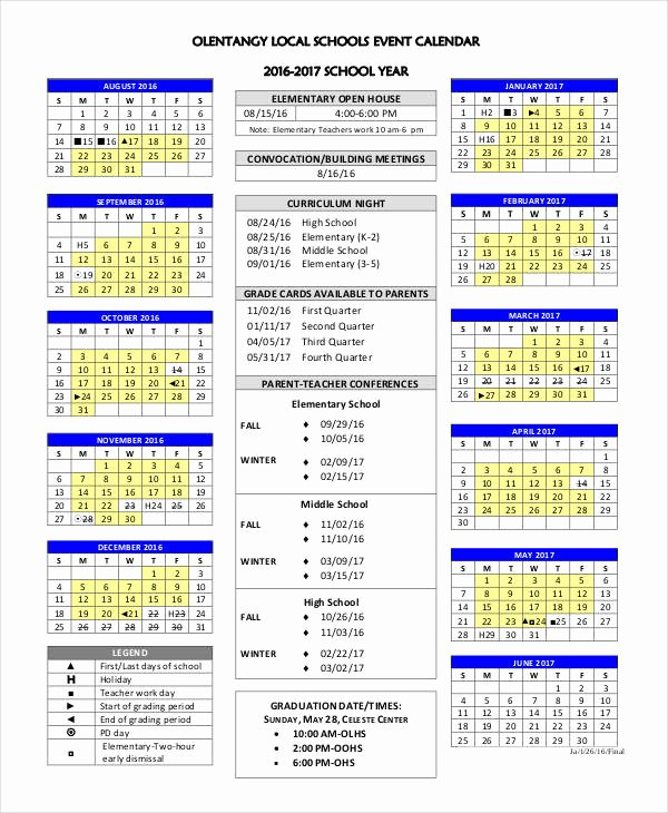 Calendar Of events Template Awesome event Calendar Templates 9 Free Word Pdf format