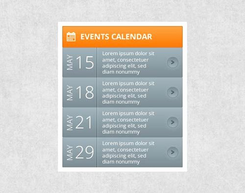 Calendar Of events Template New Free Psd Calendar Designs