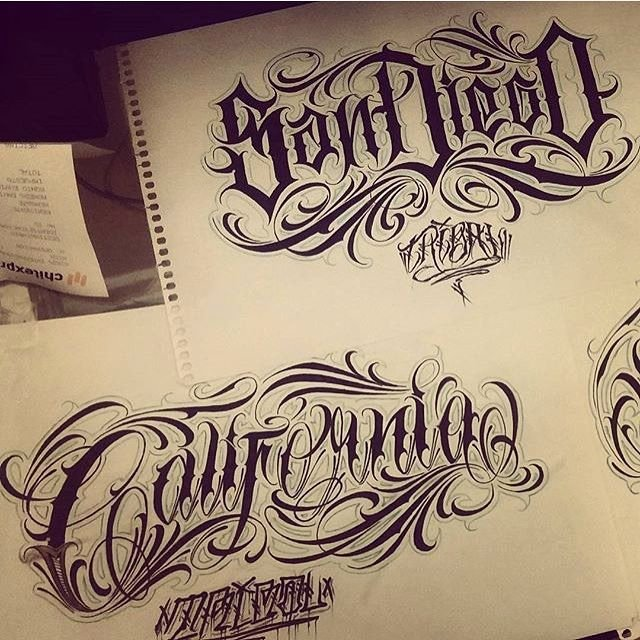 Calligraphy Font for Tattoo Beautiful This Guy Knows His Lettering Enemigoinfame Enemigoinfame