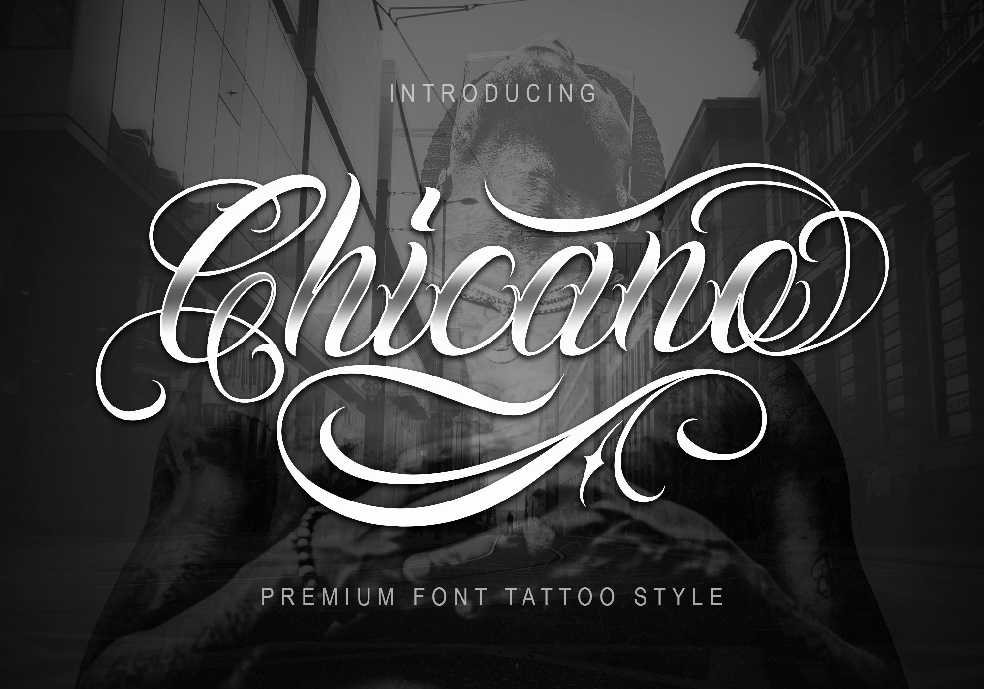 Calligraphy Font for Tattoo Inspirational Chicano Font