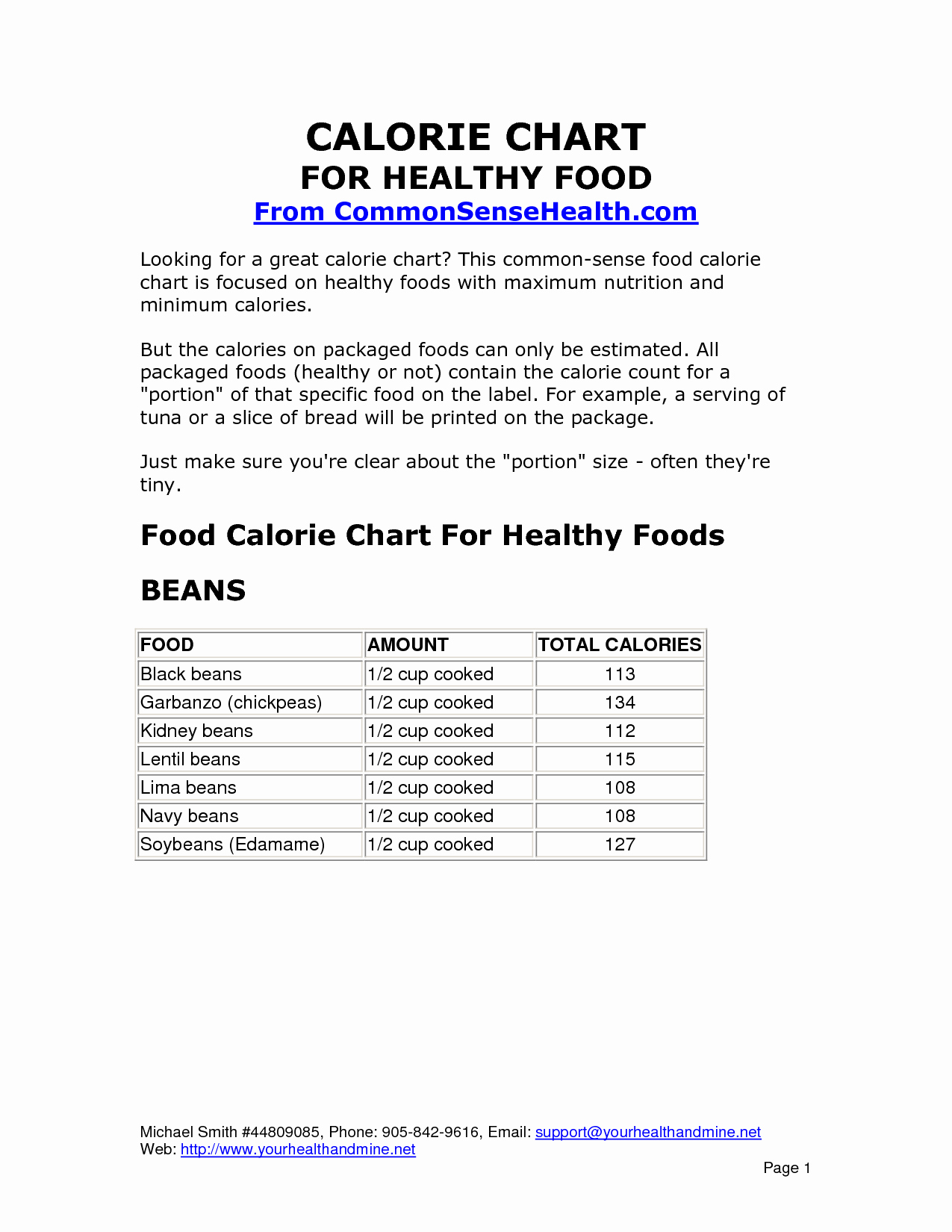 Calorie Charts for Food Fresh 6 Best Of Printable Calorie Chart Mon Foods