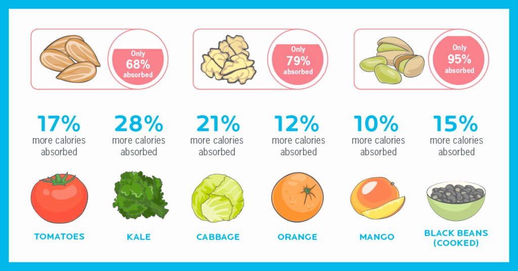 Calories In All Foods Chart Fresh the Surprising Problem with Calorie Counting the