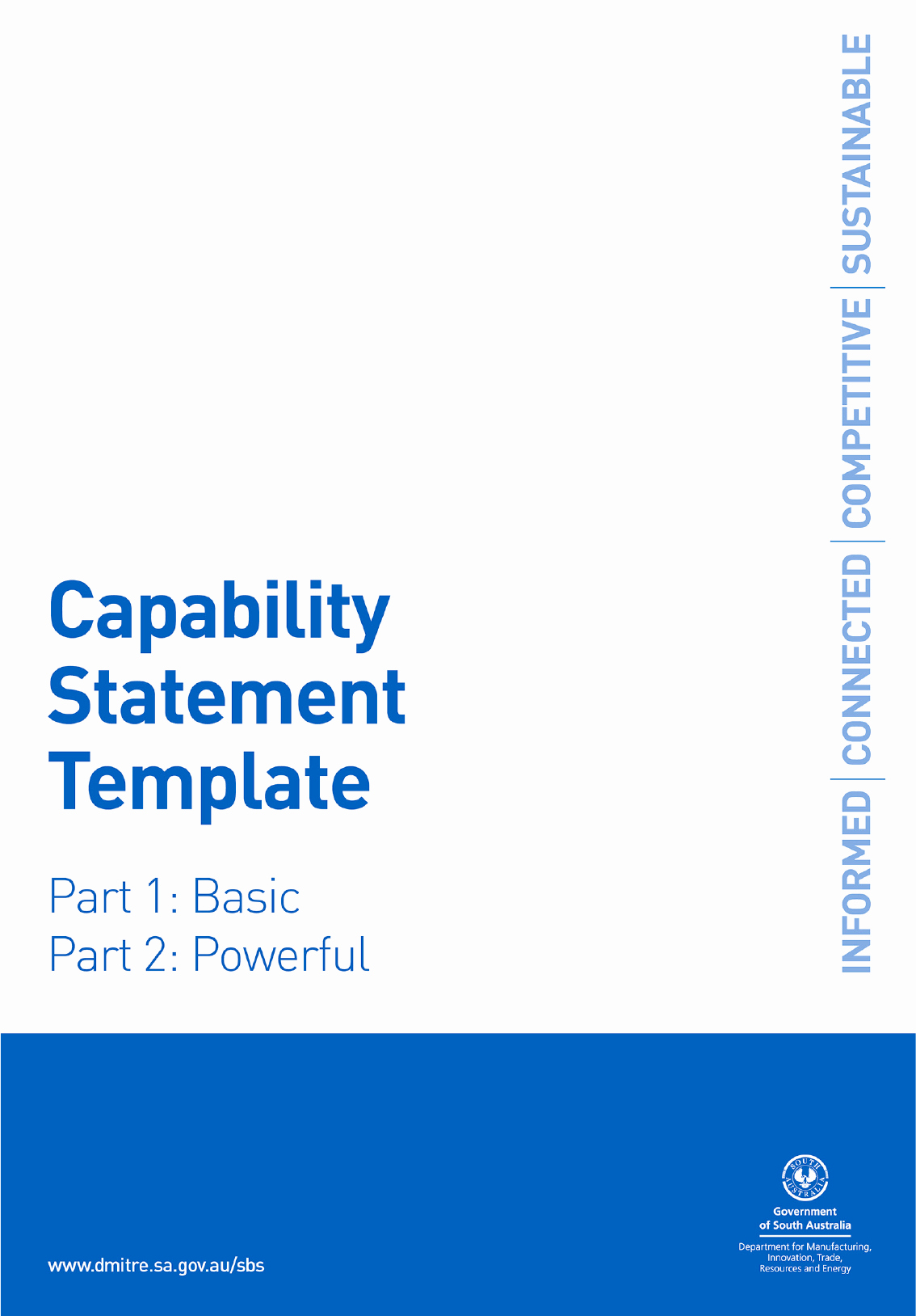 Capability Statement Template Word Lovely Capability Statement Template In Word and Pdf formats