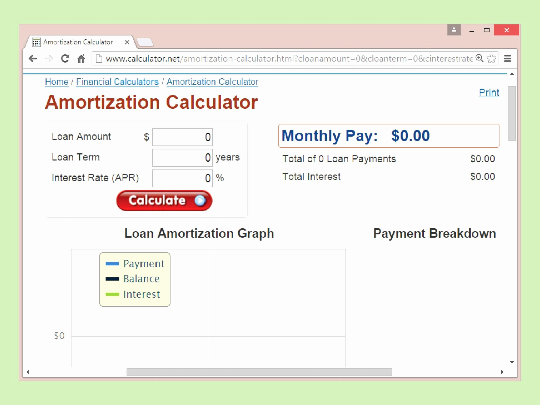Car Amortization Schedule Excel Best Of Lease Amortization Schedule Excel Template