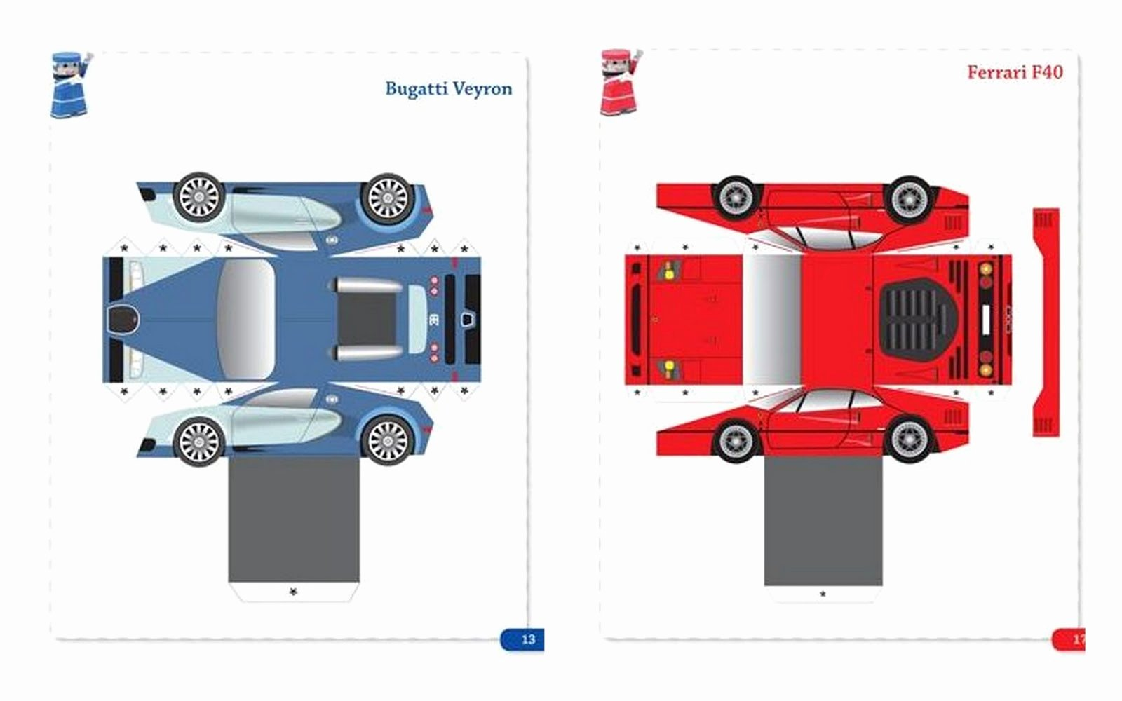 Car Cut Out Template Awesome 26 Of Mini Paper 3d Ferrari Template