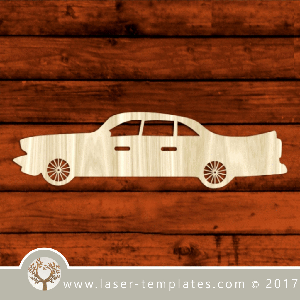 Car Cut Out Template Elegant Classic Car Laser Cut Template Pattern Design Free