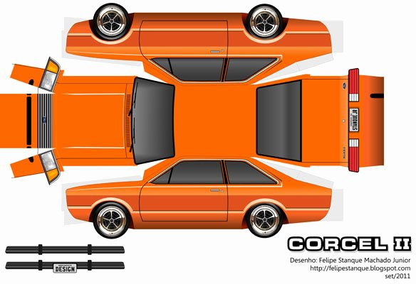 Car Cut Out Template Inspirational Lamborghini Paper Car Template to Cut