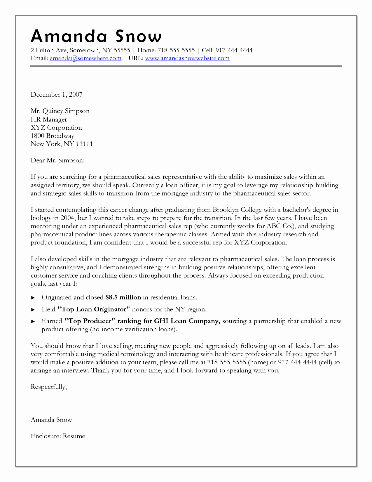 Career Change Cover Letters Elegant Cover Letter Template when Changing Careers