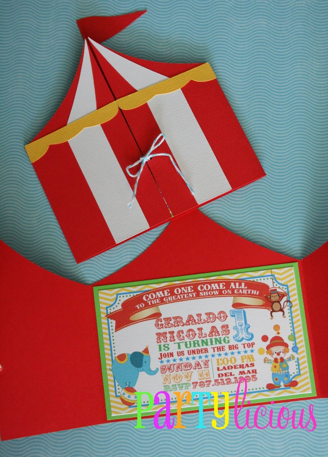 Carnival Invitation Templates Free Best Of Partylicious events Pr Circus Spectacular Birthday