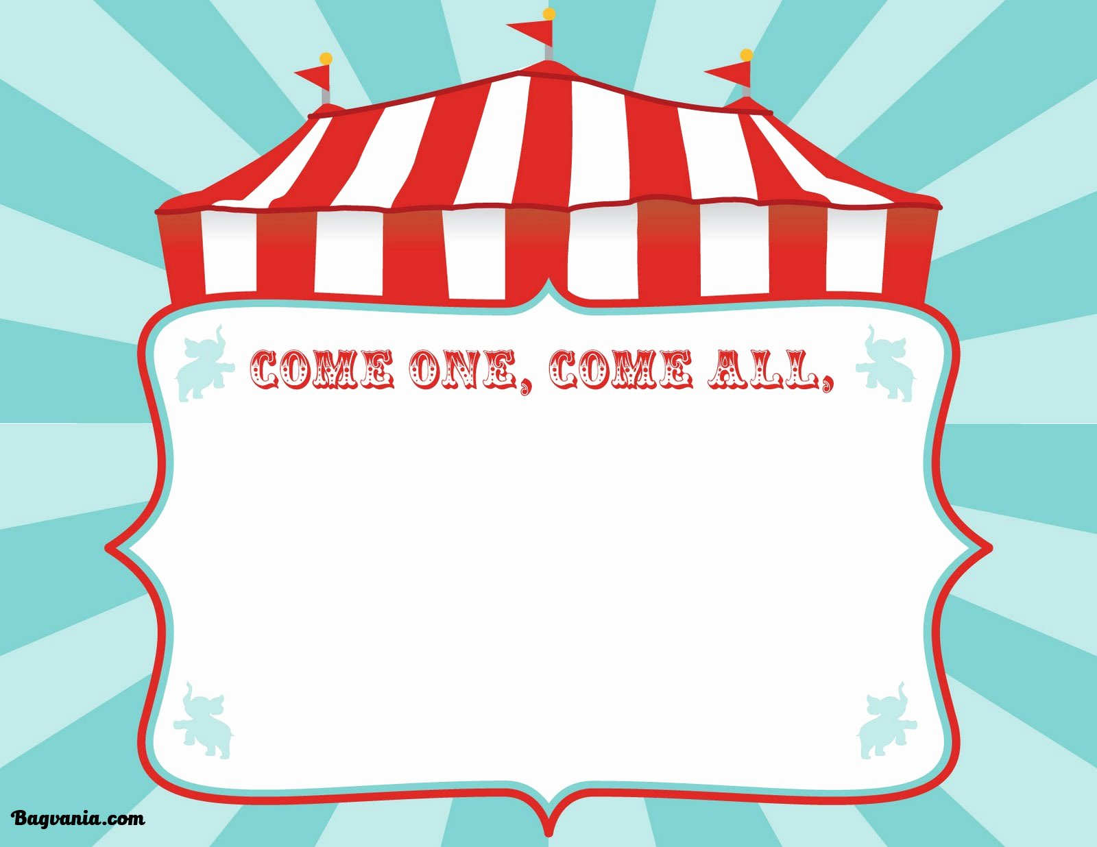 Carnival Invitation Templates Free Fresh Free Printable Circus Birthday Invitations Template – Free